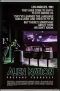 "Movie Posters:Science Fiction, Alien Nation & Others Lot (20th Century Fox, 1988). One Sheets(2) & Video Poster (27"" X 41"" & 27"" X 40"") SS. ScienceFictio... (Total: 3 Item)"