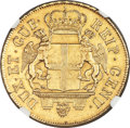 Italy:Genoa, Italy: Genoa. Republic (Biennial Doges) gold 96 Lire 1796 AUDetails (Surface Hairlines) NGC,...