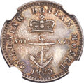 British West Indies, British West Indies: George IV 1/16 Dollar 1820 MS65 NGC,...