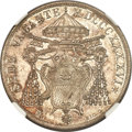 Italy:Papal States, Italy: Papal States. Sede Vacante Scudo 1846-R MS65 NGC,...