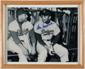 "Autographs:Photos, Signed Don Newcombe Photograph and ""Sports Illustrated"" MagazineLot of 2...."