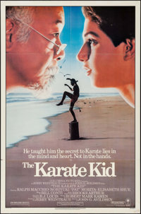 """The Karate Kid & Others Lot (Columbia, 1984). One Sheets (3) (27"""" X 40"""" & 27"""" X 41""""). Sports..."""