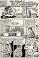 Robert Crumb The People's Comics Complete 4-Page Story Original Art (Golden Gate Publishing Company, 1972).... (Total: 4...