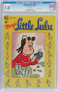 Marge's Little Lulu #6 (Dell, 1948) CGC FN/VF 7.0 White pages
