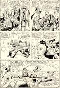 Original Comic Art:Panel Pages, Jack Kirby and Paul Reinman X-Men #2 Story Page 6 OriginalArt (Marvel, 1963)....