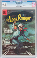 Silver Age (1956-1969):Western, Lone Ranger #107 File Copy (Dell, 1957) CGC NM 9.4 Off-whitepages....