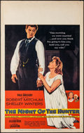 """Movie Posters:Film Noir, The Night of the Hunter (United Artists, 1955). Window Card (14"""" X 22""""). Film Noir.. ..."""