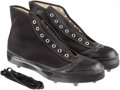 Baseball Collectibles:Others, Vintage Pro Keds Football Cleats With Original Box. ...