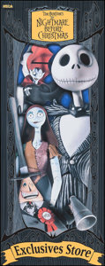 "Movie Posters:Animation, The Nightmare Before Christmas (Touchstone, 1993). Vinyl Banner(72.5"" X 28.5""). Animation.. ..."