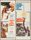 """Movie Posters:Fantasy, Jack the Giant Killer & Other Lot (United Artists, 1962). Inserts (2) (14"""" X 36""""). Fantasy.. ... (Total: 2 Items)"""