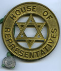 "British West Africa, British West Africa: George VI brass Pattern ""Nigeria House ofRepresentatives"" Badge 1952 UNC,..."