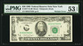 Error Notes:Obstruction Errors, Obstruction and Board Break Error Fr. 2077-B $20 1990 Federal Reserve Note. PMG About Uncirculated 53 EPQ.. ...