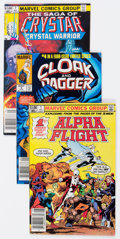 Modern Age (1980-Present):Miscellaneous, Marvel Modern Age Comics and Cards Group of 104 (Marvel, 1980s) Condition: Average VF.... (Total: 104 Items)