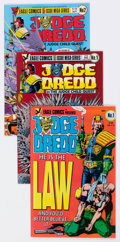 Modern Age (1980-Present):Science Fiction, Judge Dredd Related Titles Group of 35 (Eagle, 1983) Condition:Average VF/NM.... (Total: 35 Comic Books)