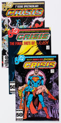 Modern Age (1980-Present):Superhero, Crisis on Infinite Earths #1-12 Complete Run Group (DC, 1985-86)Condition: Average NM.... (Total: 12 Comic Books)