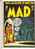 Magazines:Humor, MAD #1-260 Complete Run and More Bound Volumes Group of 44 (EC,1952-86).... (Total: 44 Items)