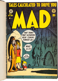 MAD #1-260 Complete Run and More Bound Volumes Group of 44 (EC, 1952-86).... (Total: 44 Items)