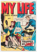 Golden Age (1938-1955):Romance, My Life #4 (Fox Features Syndicate, 1948) Condition: FN....