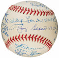 Autographs:Baseballs, New York Yankees Greats Multi-Signed Baseball (18 Signatures). ...