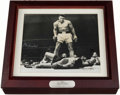 Boxing Collectibles:Autographs, 1993 Muhammad Ali Signed Fossil Watch With Display Container. ...