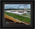 "Autographs:Photos, Preakness Stakes ""Pimlico Race Course"" Multi-Signed Photograph. ..."