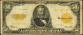 Large Size:Gold Certificates, Fr. 1200 $50 1922 Gold Certificate Very Good-Fine.. ...