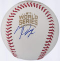 Autographs:Baseballs, Kris Bryant Single Signed 2016 World Series Baseball - NL MVP. ...