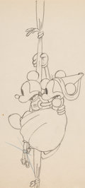Animation Art:Production Drawing, Ye Olden Days Mickey Mouse and Minnie Mouse AnimationDrawings Sequence of 2 (Walt Disney, 1933). ... (Total: 2 )