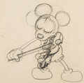 Animation Art:Production Drawing, Just Mickey Mickey Mouse Animation Drawing (Walt Disney,1930). ...