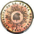 Colombia, Colombia: Republic Proof 1/2 Decimo de Real (1/20 Real) 1847 PR64Red and Brown PCGS,...