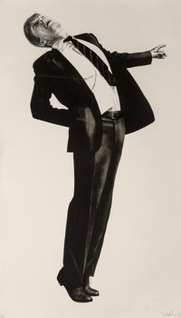 Robert Longo (b. 1953) Edmund, 1985 Lithograph on wove paper 39-1/2 x 68 inches (100.3 x 172.7 cm