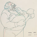 Animation Art:Production Drawing, Pinocchio Stromboli and Pinocchio Animation Drawings Group of 2 (Walt Disney, 1940). ... (Total: 2 )