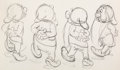 Animation Art:Production Drawing, Snow White and the Seven Dwarfs Animation Drawings Group of2 (Walt Disney, 1937). ... (Total: 2 )