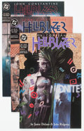 Modern Age (1980-Present):Horror, Hellblazer Half Short Box Group (DC, 1988-94) Condition: AverageNM-....
