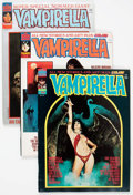 Magazines:Horror, Vampirella Group of 12 (Warren, 1974-77) Condition: Average FN.... (Total: 12 Comic Books)
