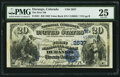 National Bank Notes:Colorado, Durango, CO - $20 1882 Value Back Fr. 581 The First NB Ch. #(W)2637. ...