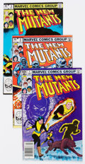 Modern Age (1980-Present):Superhero, New Mutants Box Lot (Marvel, 1983-91) Condition: Average NM-....