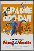 "Movie Posters:Animated, Song of the South (Buena Vista, R-1980). One Sheet (27"" X 41""). Animated. ..."