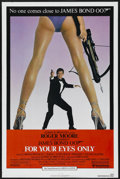 "Movie Posters:James Bond, For Your Eyes Only (United Artists, 1981). One Sheet (27"" X 41""). James Bond. ..."