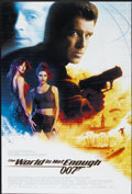 "Movie Posters:James Bond, The World is Not Enough (MGM, 1999). One Sheet (27"" X 40"") DS.James Bond. ..."