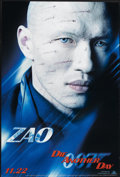 "Movie Posters:James Bond, Die Another Day (MGM, 2002). Advance One Sheet (27"" X 40"") SS ZaoStyle. James Bond. ..."