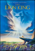 "Movie Posters:Animation, The Lion King (Buena Vista, 1994). One Sheet (27"" X 40"") DS Advance. Animation.. ..."