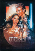 "Movie Posters:Science Fiction, Star Wars: Episode II - Attack of the Clones (20th Century Fox,2002). One Sheet (27"" X 40""). SS Style B. Science Fiction.. ..."