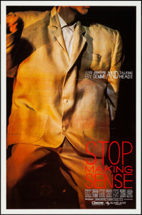 """Stop Making Sense (Island Alive, 1984). One Sheet (27"""" X 41""""). Rock and Roll"""