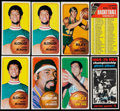 Basketball Cards:Lots, 1970/71 Topps Basketball Collection (58)....