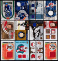 Hockey Cards:Lots, Extensive Hockey Game Used Jersey or Stick Sample Cards Collection(105). ...