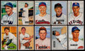 Baseball Cards:Sets, 1951 Bowman Baseball Partial Set (142/324) Plus 33 Extras. ...