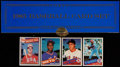 Baseball Cards:Sets, 1985 Topps Tiffany Complete Set (792)....