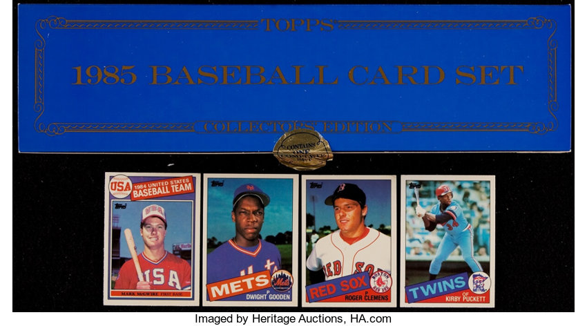1985 Topps Tiffany Complete Set 792 Baseball Cards Sets Lot