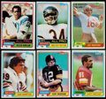 Football Cards:Sets, 1981 Topps Football Complete Set (528). ...